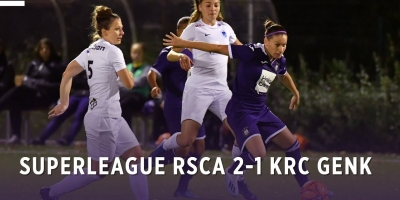 Embedded thumbnail for Superleague: RSCA 2-1 KRC Genk