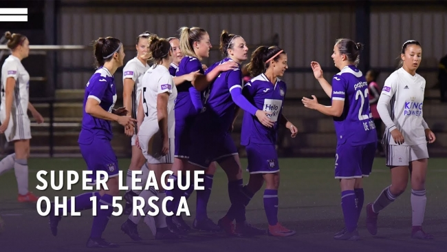 Embedded thumbnail for Super League: OHL 1-5 RSCA Women