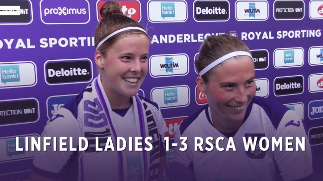 Embedded thumbnail for UWCL: Linfield Ladies 1-3 RSCA Women